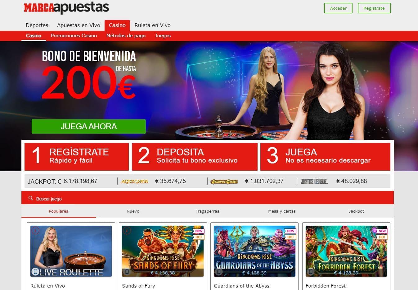 Marca Apuestas Casino